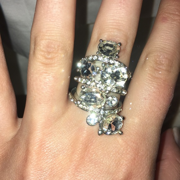 50 off Jewelry Fake diamond ring size 7 from Catherines closet